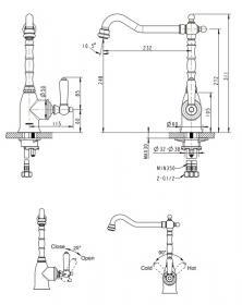 Bravat Art F775109U для кухни