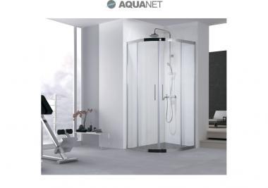 Aquanet Душевой уголок  Delta NPE2142 90x90, прозрачное стекло