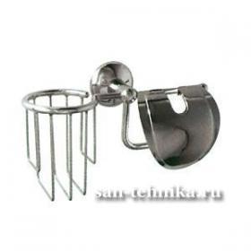 Bath Plus Otel H-80853 бумагодержатель круглый (24 см)