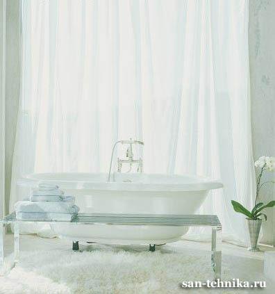 Примеры отделки ванной комнаты