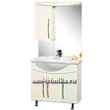 Аквавита мебель для ванной Полотенцесушитель водяной Ника Arc ЛД 120/50 бок 50